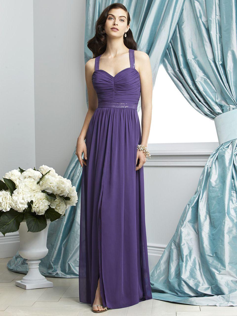 Dessy collection bridesmaid dress style blush bridal