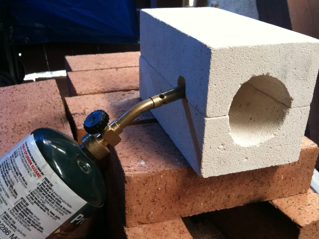 Fire Brick Mortar Recipe : Two brick forge this is a bad idea to let me near