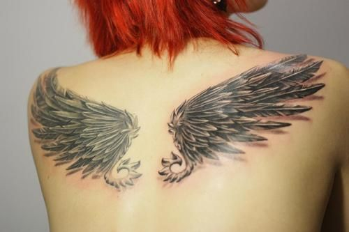 Alas Tatuadas En La Espalda Tattoo Tattoos Wings Y Body Art