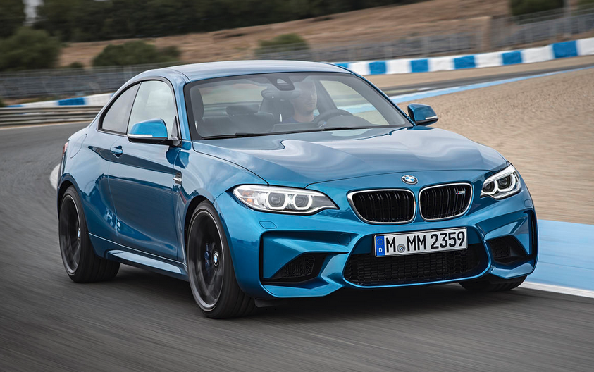 ICYMI: BMW debuted the new 2016 BMW M2 coupe | photo credits: BMW
