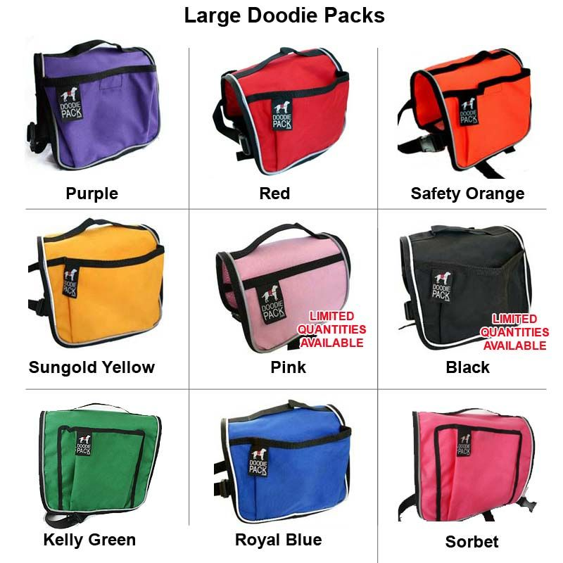 Large Purple Doodie Pack