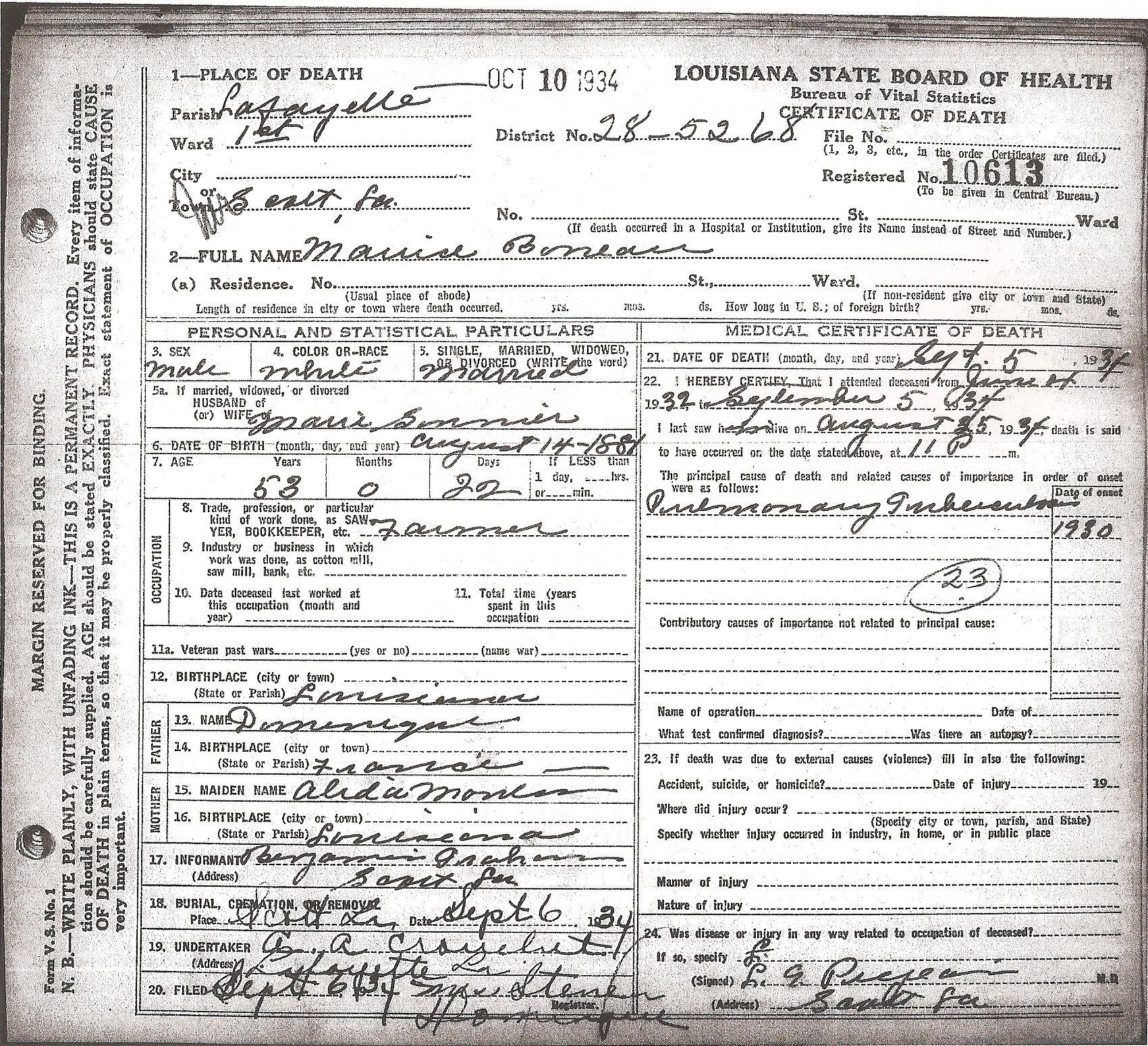Vital Records In Louisiana Louisiana Genealogy Pinterest Genealogy