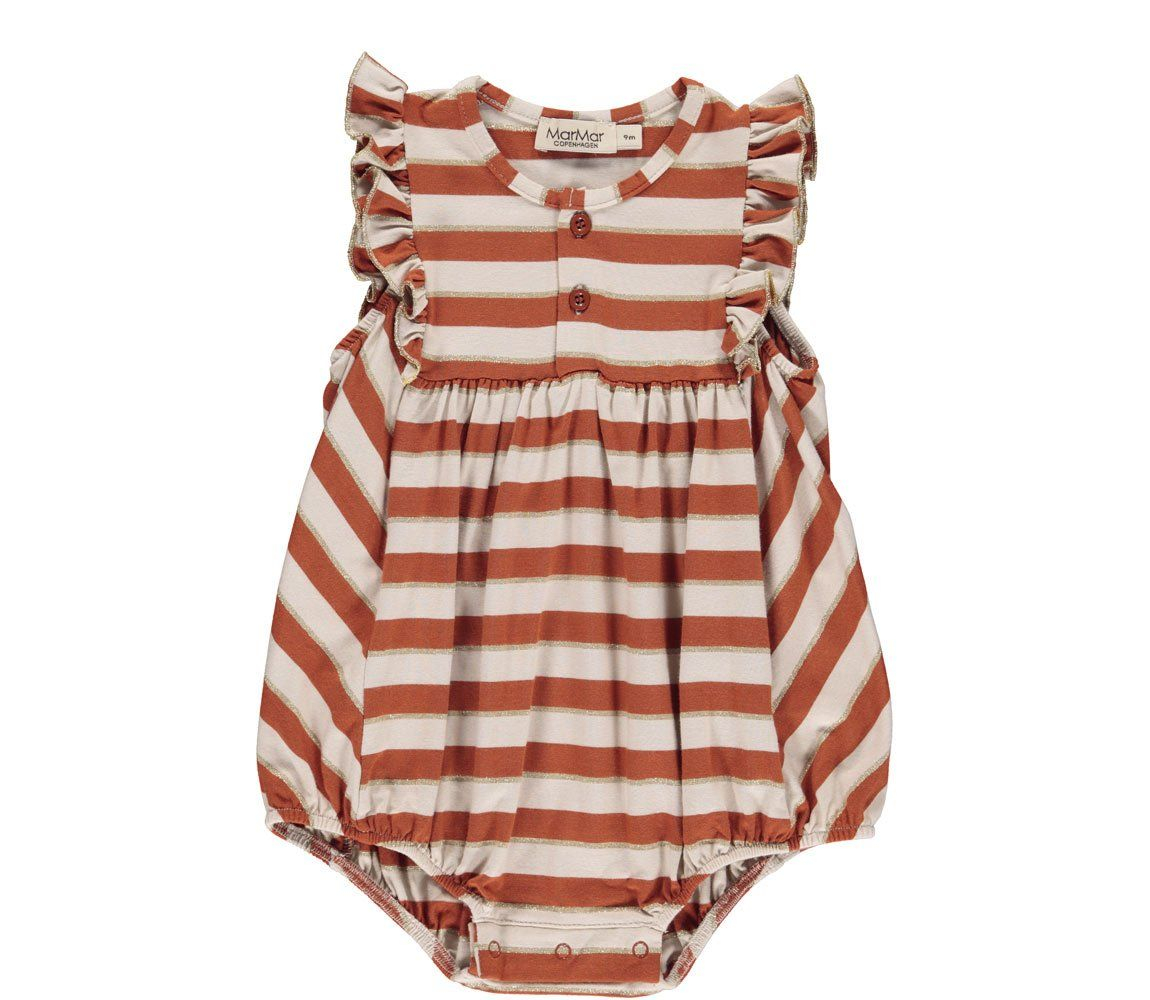 Marmar Copenhagen Rommy Frill Baby Romper Bonordic Scandinavian Baby Clothes Summer Baby Clothes Rompers