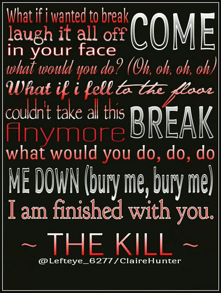 Song lyrics from The Kill - 30 Seconds To Mars | Music ...