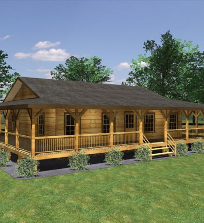 Small Home Plans With Wrap Around Porch 3d Small House Plans ...