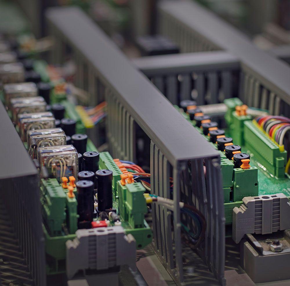 Circuito Electronico : Fotografía circuito electrónico industrial