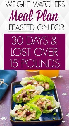 30 Tage Weight Watchers Meal Plan half mir, fast 20 Pfund zu verlieren   -  Health & Fitness - #Fast...