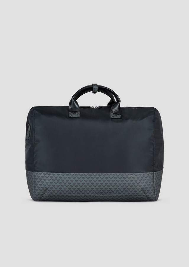 1b87976a5a Nylon duffle bag with all-over monogram on a PVC background in 2019 ...