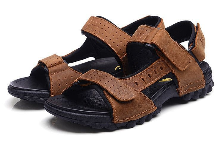 01f47a45a Urban trek sandals for any adventure - Upper is made from leather - Sole is  made from TPR - Available in 2 colors