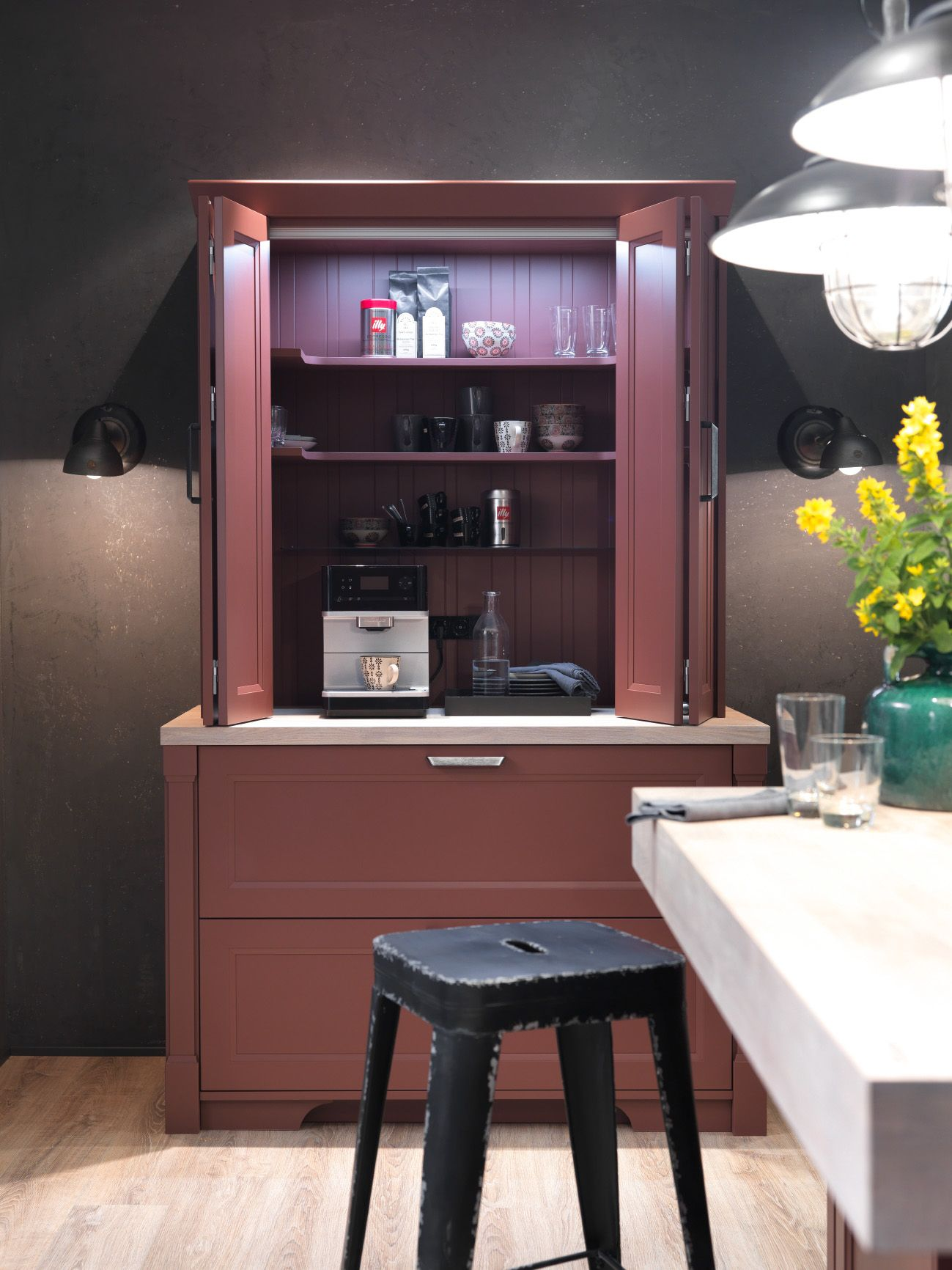 Küche | Landhausstil | Mattlack | Ordnung | Schrank | in ...