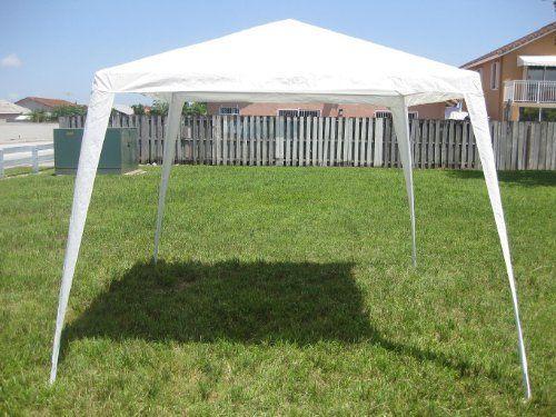 10x10 Gazebo Canopy White By Biscayne 39 95 Polyurethane Canvas Straight 10 X10 Gazebo Canopy Gazebo Tent Gazebo