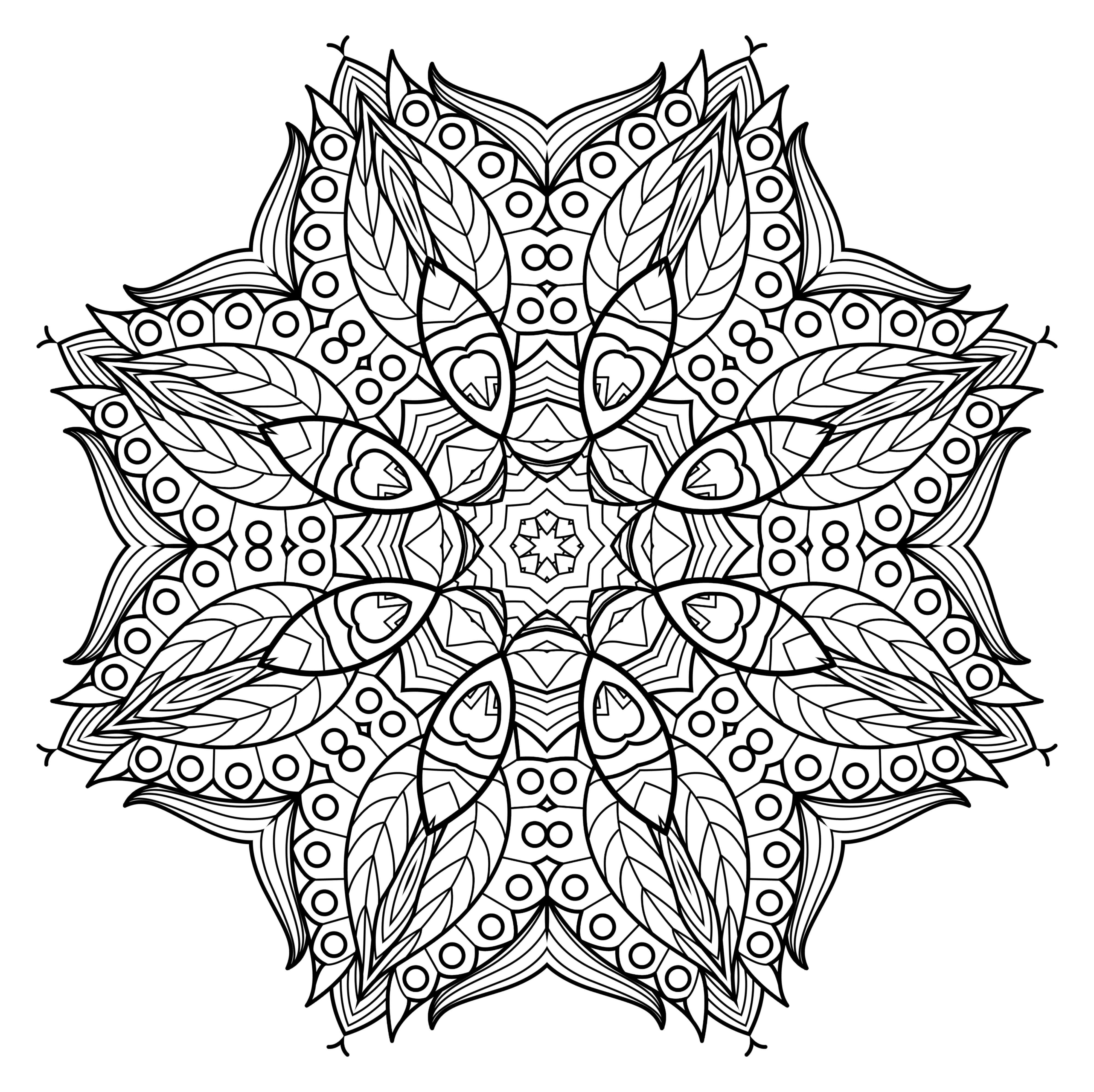 Lifestyle And Productivity The Maven Circle Mandala Kleurplaten Kleurplaten Mandala