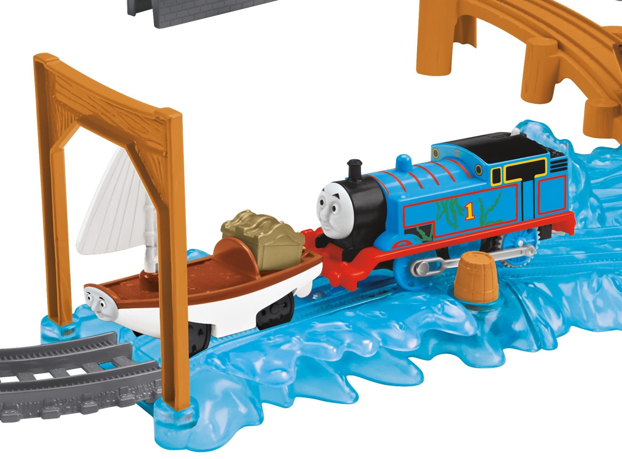 Fisher price thomas amp friends trackmaster treasure chase set new - Amazon Com Fisher Price Thomas The Train Trackmaster Treasure Chase Set Toys