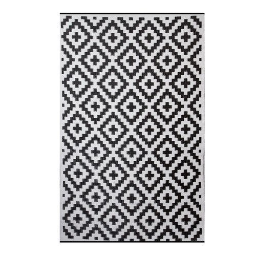Premier Home Hand Woven Black White Indoor Outdoor Area Rug White Bathroom Rug Rugs White Laundry Rooms