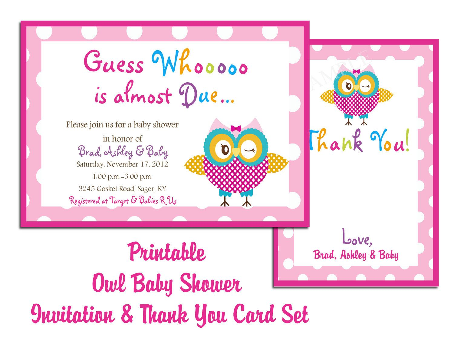 Free Printable Baby Shower Invitations For Girl - Baby ideas | baby ...
