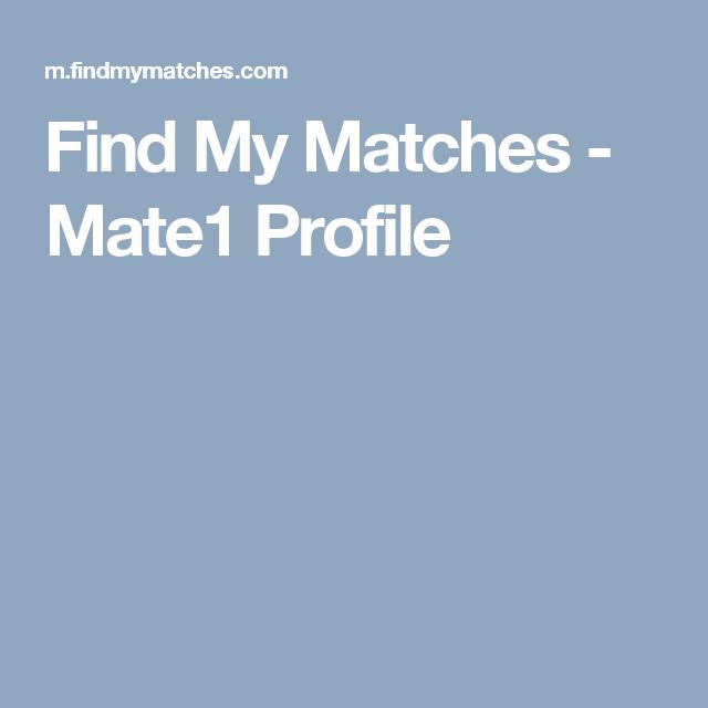 Mate1 profile search