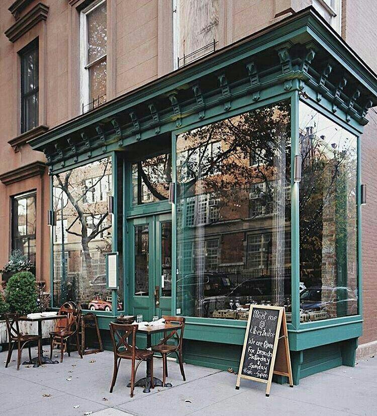 Brooklyn New York Cafe Design Vintage Cafe Design Storefront Design