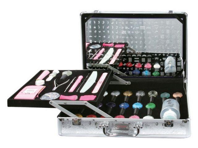 Nail Nails Fingernails Design Art Stamper Konad Pro Salon Kit