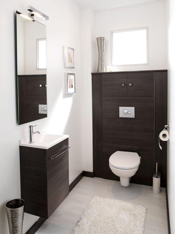 exemple décoration wc suspendu | Salle de bain | Pinterest ...