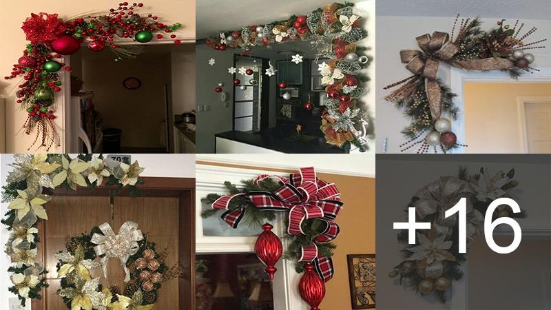 Hacer Guirnaldas Navidenas De Pared Para Colgar La Corona En La Pared O Dondequiera Que Usted Desee Puede Util Holiday Decor Navidad Christmas Christmas Tree