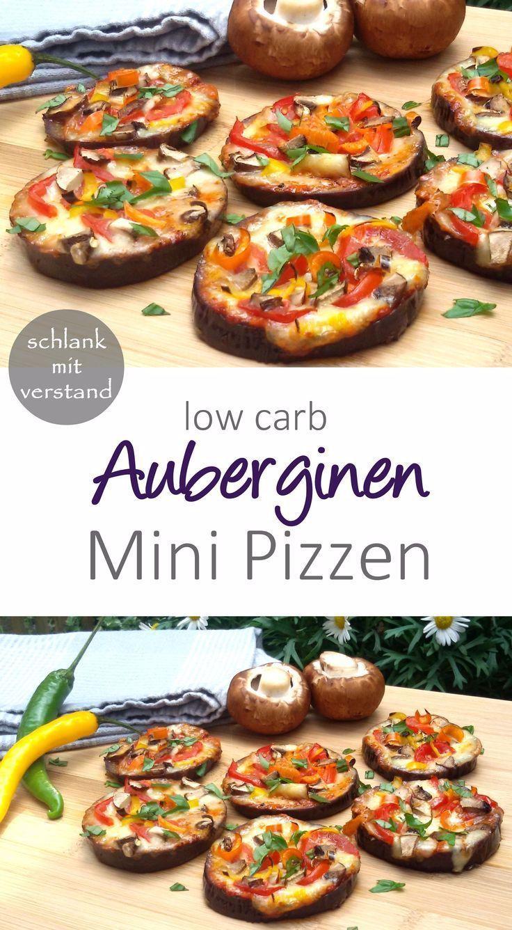 low carb Auberginen Mini Pizzen #abnehmen #lowcarb #Rezepte #Rezept #deutsch #lchf #keto #essen #food #schlankmitverstand