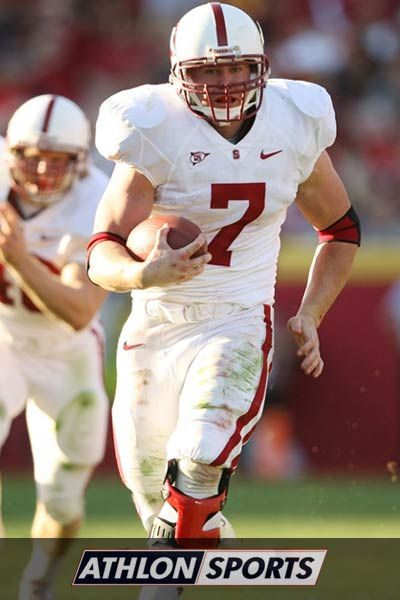 Toby Gerhart Stanford This Dude Was Such A Boss Stanford Football College Football Uniforms College Football Players