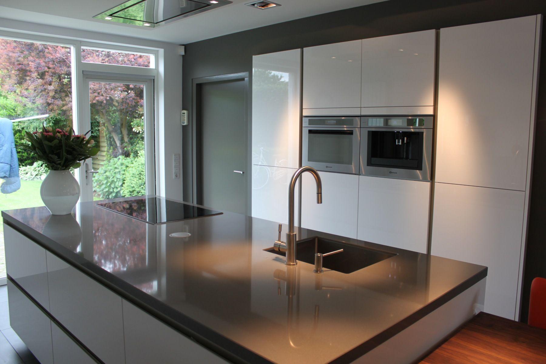 Keukenwand ingebouwd in muur kitchen in kitchen kitchen