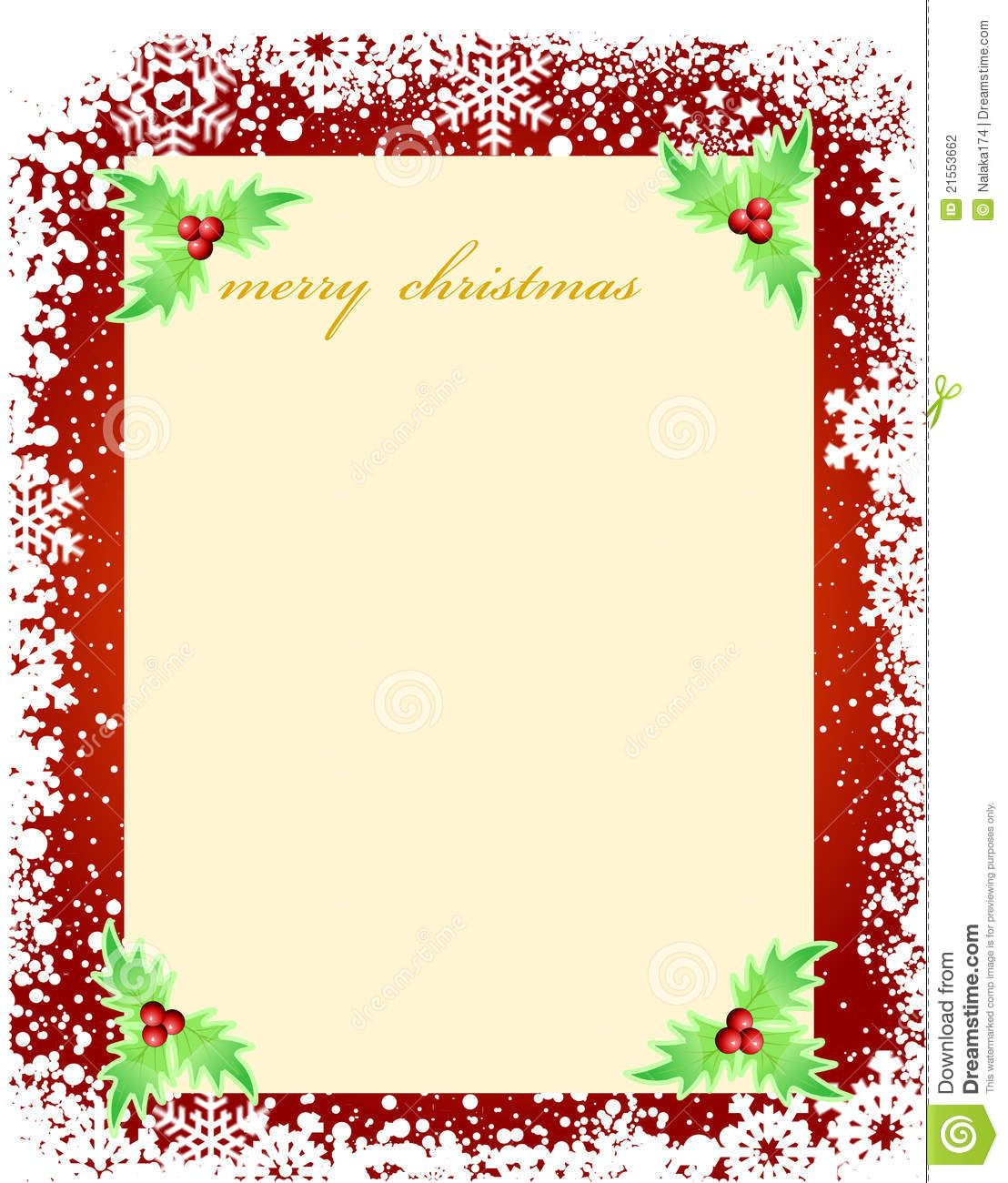 Free Blank Christmas Card Templates Christmas card