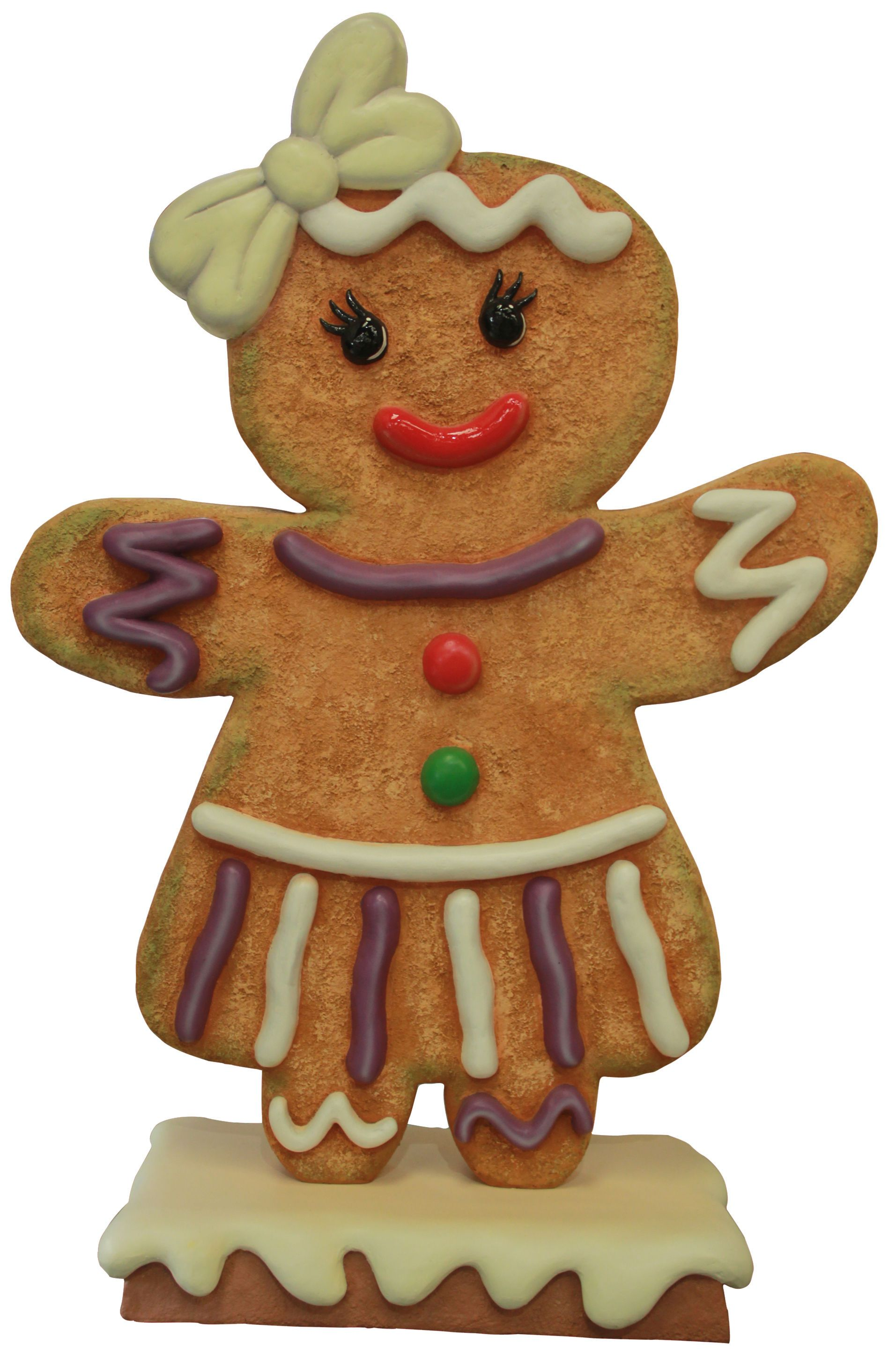 Mini Gingerbread Girl Indoor christmas decorations