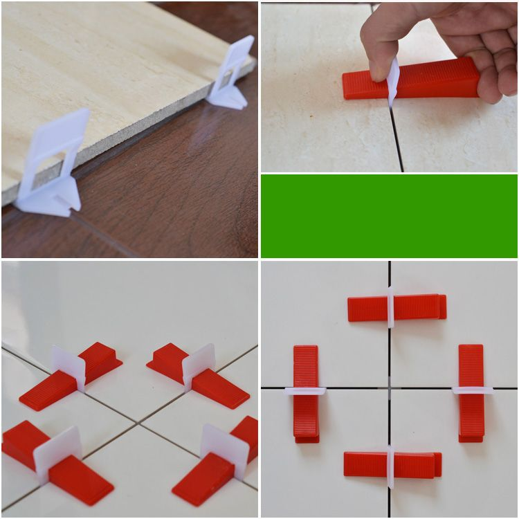 Red Wedge For 3 12mm Tile Leveling System Tile Leveling System Tiles Tile Spacers