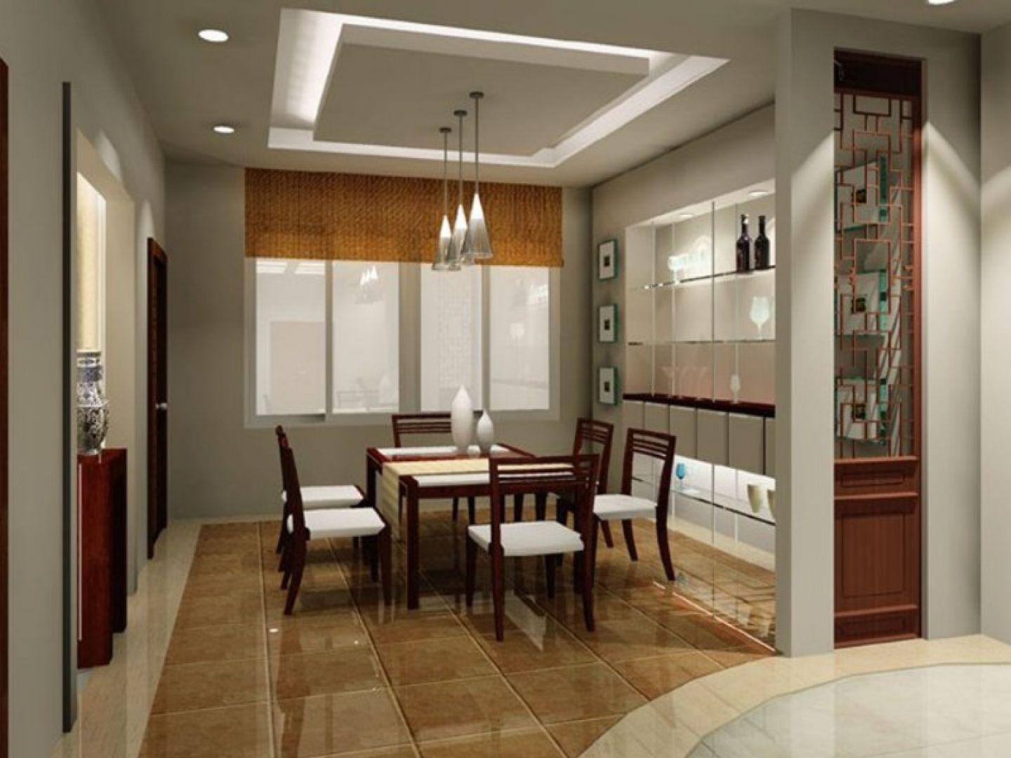 interior design of ideas for modern small dining room