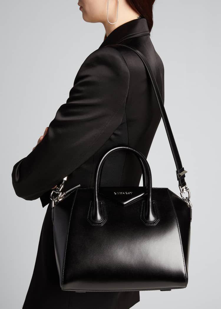 Givenchy Antigona Small Box Calf Leather Satchel Bag In 2020 Givenchy Antigona Small Leather Satchel Bag Givenchy Bag Antigona