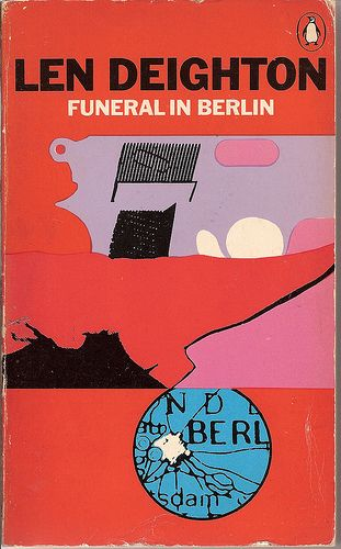 Design Len Berlin funeral in berlin penguin book cover penguin books funeral and