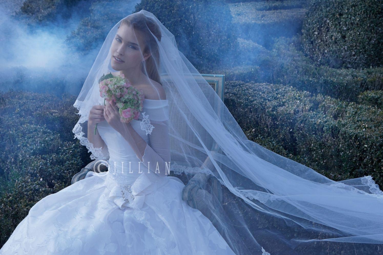 Allison williams wedding dress  Silk Organza Decoupè Silk Stretch Chiffon and delicate Beading