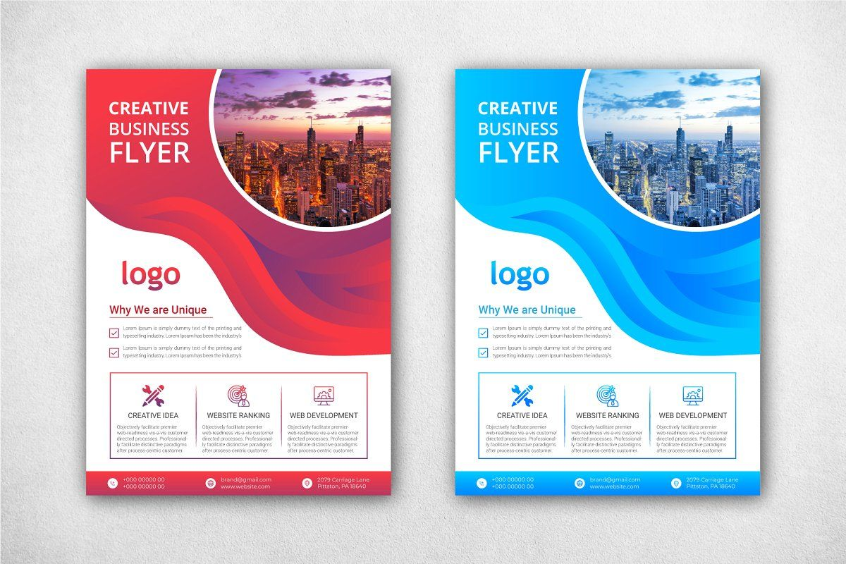 Corporate Business Flyer Template Business Flyer Templates Business Flyer Trifold Brochure Template