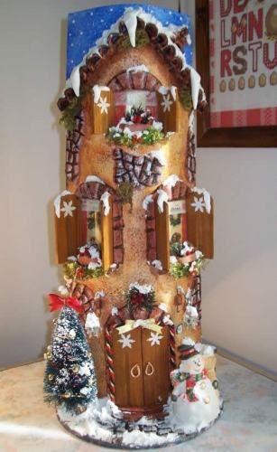 Tegola di natale con pupazzo di neve tejas decoradas en - Tegole decorate istruzioni ...