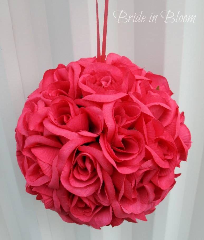 Super Easy Flower Balls DIY Wedding Project Photo | dream wedding 2 ...