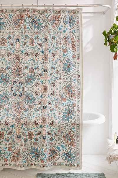 Pretty Shower Curtain In A Light Airy Print We Love Made From