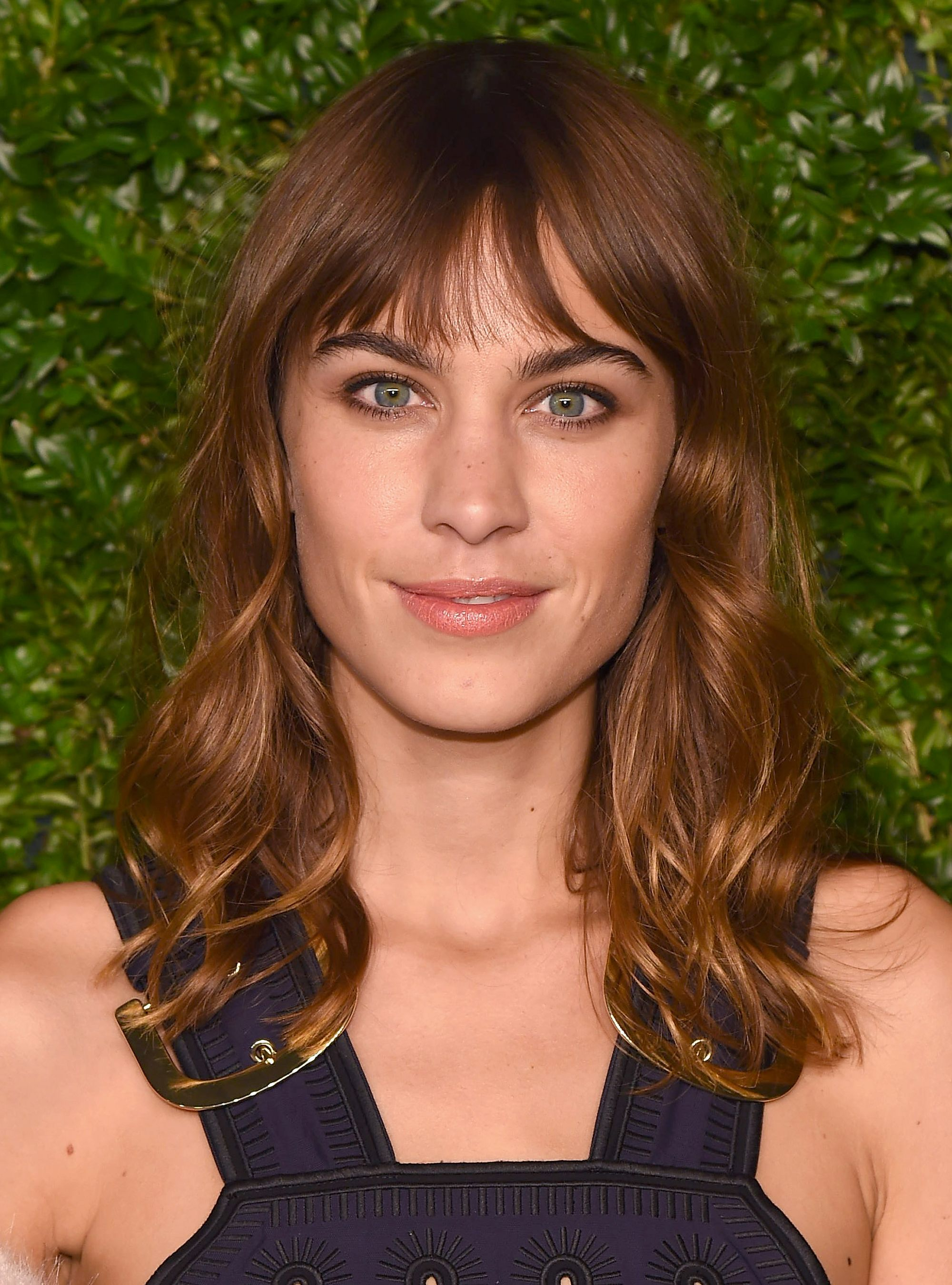 The Most Iconic Celebrity Bang Moments of All Time - Alexa Chung from InStyle.com