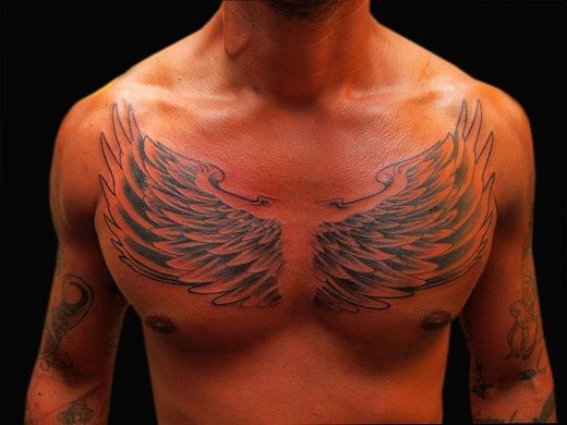 Amazing Wings Tattoo Designs Wings Tattoo Chest Piece Tattoos Chest Tattoo Wings