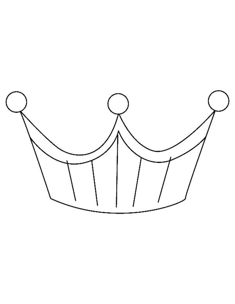 Crown Victoria Coloring Page Printable A Simple Headdress Or With A Lot Of Decoration Worn By Prominent People Such As Kings Queens Other Rulers And Peopl