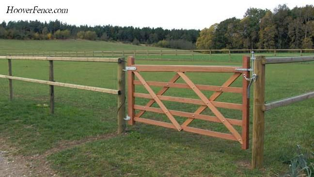 Five Bar Gates Hoover Fence Co Ornamental Wooden Gates For Farm Fence Fence Gate Building A Fence