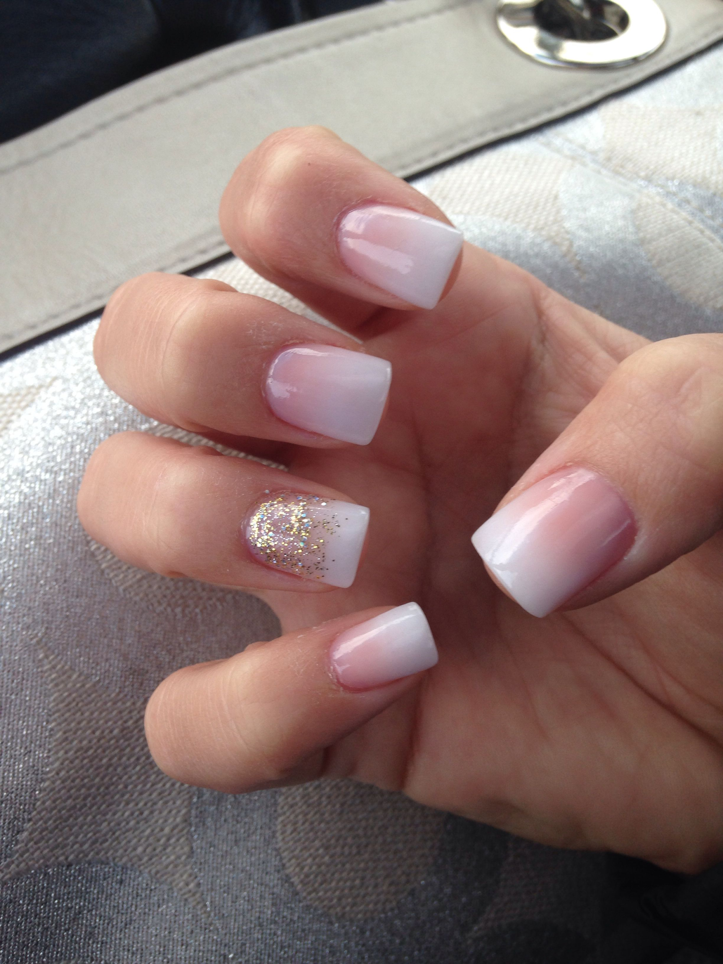 Beautifully Subtle Simple Nails Square Acrylic Nails Work Nails