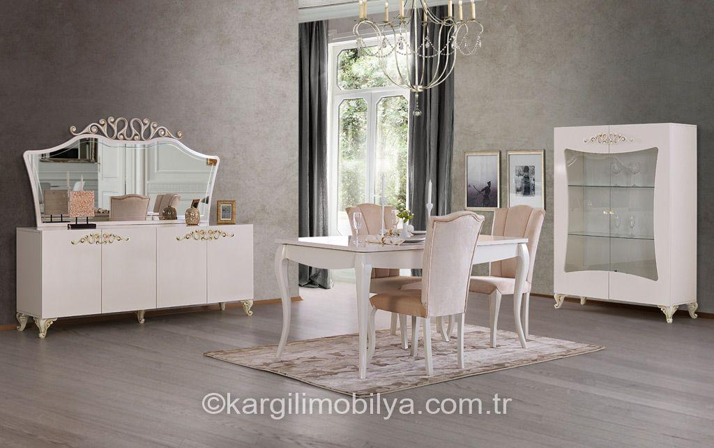 Florya Yemek Odası Takımı Wohnzimmer Pinterest Wohnzimmer - wohnzimmer modern barock