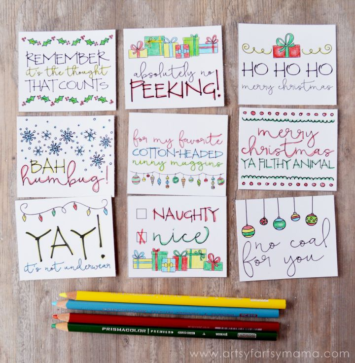 Free printable doodle christmas gift tags free printable free printable doodle christmas gift tags negle Gallery