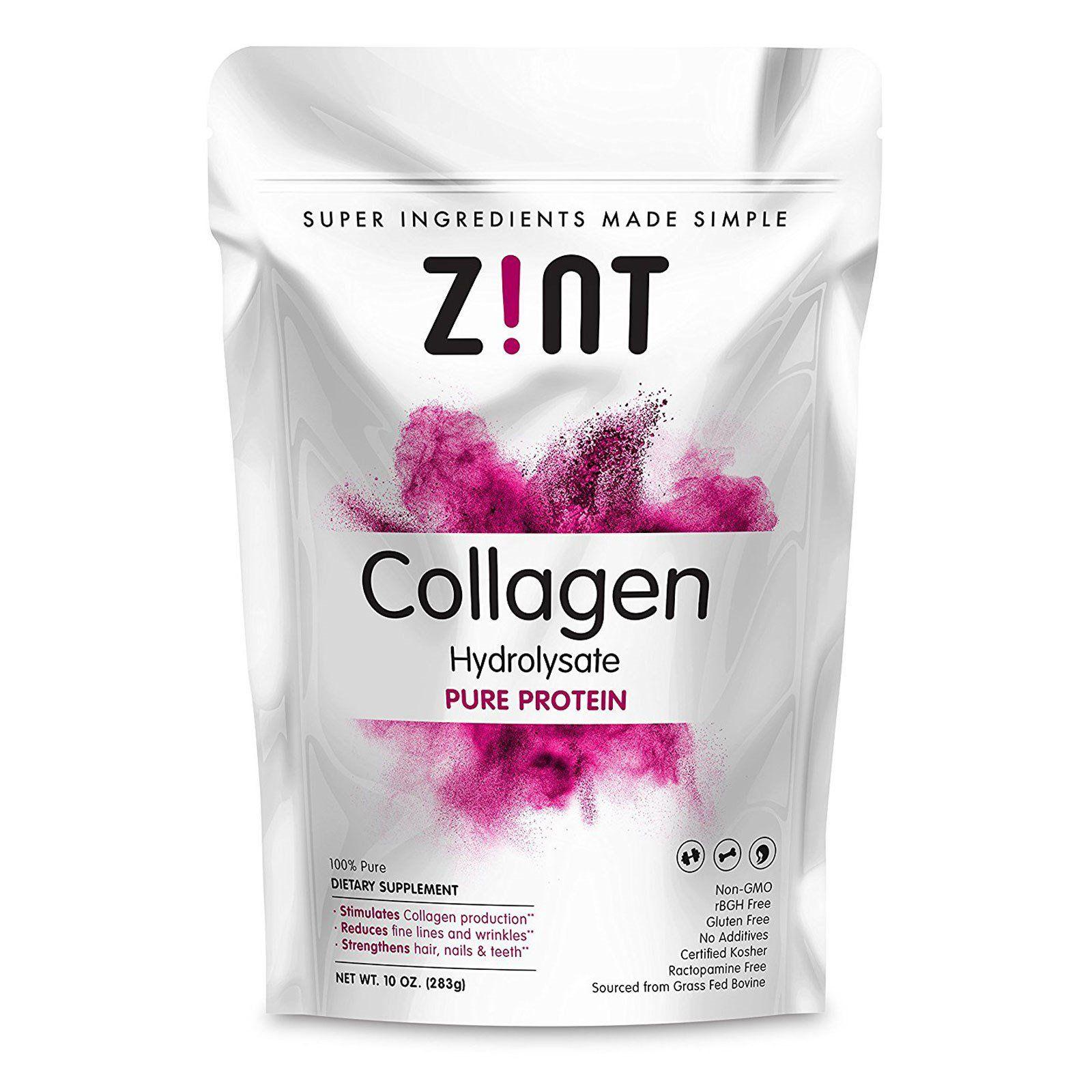 Z Nt Collagen Hydrolysate Chistyj Protein 10 Uncij 283g Iherb Ajherb Zdorove Krasota Kupit P Beef Gelatin Collagen Hydrolysate Collagen Protein Powder