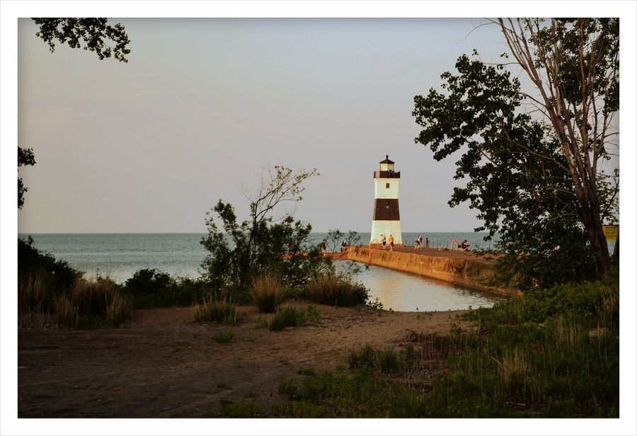 """500px / Photo """"Lake Erie Lighthouse"""" by Lisa Oberacker"""