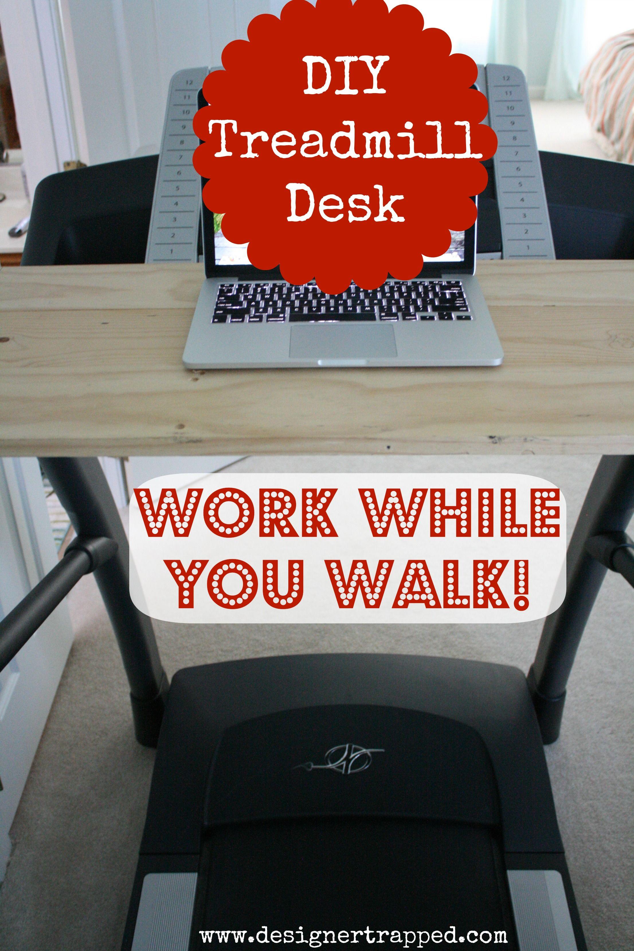 Build your own treadmill desk joes corner no 2