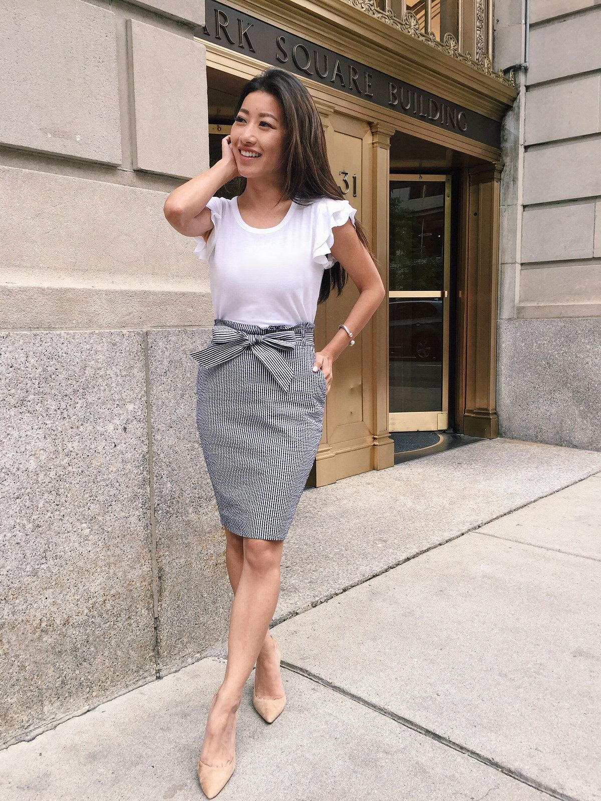 what to wear to work in the summer business casual