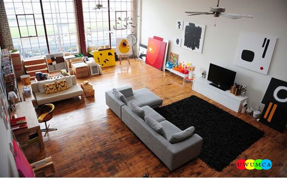 Decoration decorating small living room layout modern interior ideas with tv home family entertainment rectangle sectional square sofas contemporary table also rh pinterest